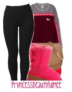 """"""" Easter Sunday """" by prvncessbeautifulmee ❤ liked on Polyvore featuring STELLA McCARTNEY, MICHAEL Michael Kors and UGG Australia"""