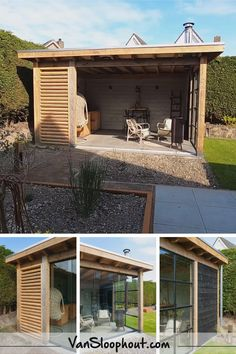 Pergola Designs, Patio Design, Garden Design, Back Gardens, Outdoor Gardens, Pergola Carport, Diy Pergola, Casas Containers, Outdoor Dining