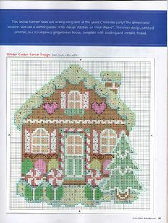 #Christmas gingerbread house cross stitch (2) Gallery.ru / Foto # 18 - 45 - ZinaidaR