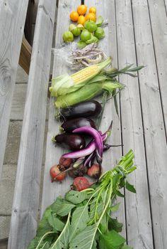 Market produce August 30, 2013