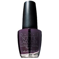 Lincoln Park After Dark - My favorite dark nailpolish for winter time.