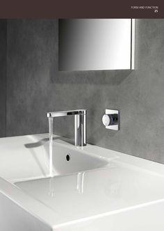 KWC håndvaskarmatur #KWC #bathroom #håndvaskarmatur #badeværelse #vvscomfort