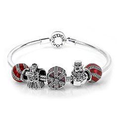 5aafbe83c PANDORA Fancy Festive Complete Bracelet CB658. Pandora BeadsPandora  BraceletsTree ...