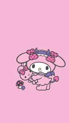 Sanrio Wallpaper, Pink Wallpaper, Cellphone Wallpaper, Iphone Wallpaper, Cute Mobile Wallpapers, Sanrio Danshi, Cute Lockscreens, Bubble Stickers, Twilight Movie