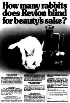 and cover girl, and procter and gamble, the list goes on and on...look for the bunny sign on your products if you don't want to support animal testing/cruelty