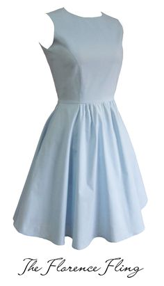 b377856655 Juana Ballerina Dress in Powder Blue Our favorite staple ballerina dress is  back! This style