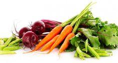 Beterraba e cenoura