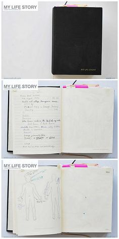 From hearthandmade uk: This journal is an amazing idea from Suck uk! It's a gigantic book that comes with a series of blank and lined pages big enough for your whole life!
