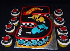 Ideas for Hot Wheels Themed 5th Bday