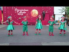 The best Christmas dance songs. A popular Christmas song featuring easy dance moves.