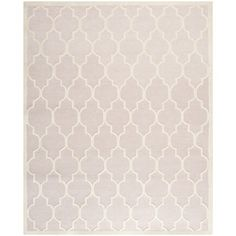 Safavieh Handmade Moroccan Cambridge Light Pink/ Ivory Wool Rug (7'6 x 9'6) | Overstock.com Shopping - Great Deals on Safavieh 7x9 - 10x14 Rugs
