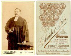 Atelier Gebr. Siebe Stettin um 1900 Foto evangelischer Pfarrer in Stettin Pommern Szczecin Pomorze | Flickr - Fotosharing!