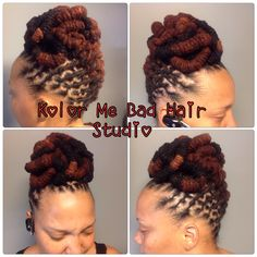Locs Pin Up Dreads Styles For Women, Locs Styles, Dreadlock Styles, Braid Styles, Dreadlock Hairstyles, African Hairstyles, Weave Hairstyles, Afro, Loc Updo