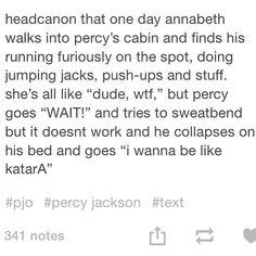 Percy Jackson and avatar