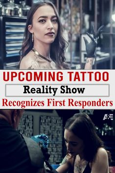 Upcoming Tattoo Reality Show Recognizes First Responders Broken Tattoo, Houston Police, Upcoming Series, Love Only, Military Wife, Prison Break, Wtf Funny, Tattoo Designs, Hero