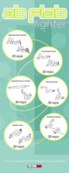 If you want to get rid of belly fat and tone up your abs try this ab workout. Do it three days a week for one month to get results! #abworkout #abs #abchallenge