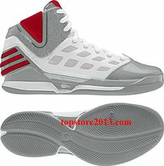 Adidas Derrick Rose 2.5 Dominate \u0026quot;Home\u0026quot; Aluminum-Scarlet-White ...