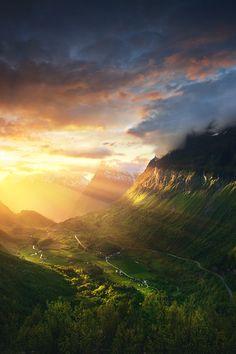 "artofvisualscollective:  ""Norway - Geirangerfjord by Ilja Masik  """