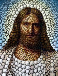 Jesus, por Ben Heine