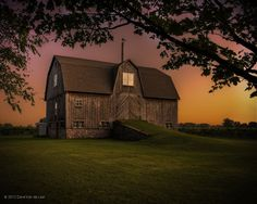 HDR Barn at sunset by Dave Van de Laar on 500px  Perfect!