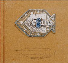 A design by Lorenzo Homar for Cartier, 1940's