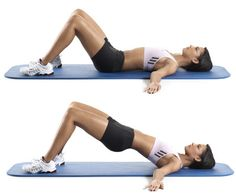 One of the best exercises for women: hip raises! Add it to your fitness routine to work your glutes (and flatten your belly)