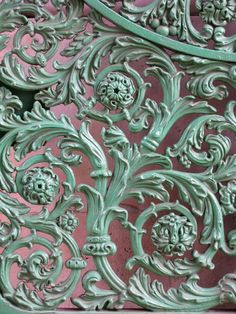 wrought iron metal