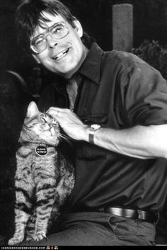 """People think that I must be a very strange person. This is not correct. I have the heart of a small boy. It's in a glass jar on my desk."" -- Stephen King"