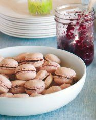 French macaron recipe from Martha Stewart- gluten and dairy free