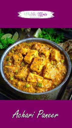 Puri Recipes, Pakora Recipes, Chaat Recipe, Paneer Korma Recipe, Indian Vegetable Recipes, Indian Food Recipes, Indian Paneer Recipes, Paneer Dishes, Veg Dishes