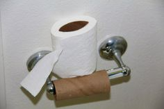 For all that is holy, put the toilet paper on properly and stop doing this.   19 Things You Can Do To Not Be A Complete Jerk Face