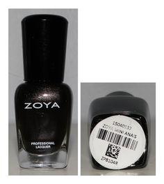 Zoya Mini Anais - Iridescent Black