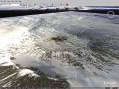 Remote Sensing Analysis of Mount Erebus - Antarctica.  Análisis mediante imágenes de satélite del volcán Erebus en la Antártida.  #remotesensing #volcano #antarctica