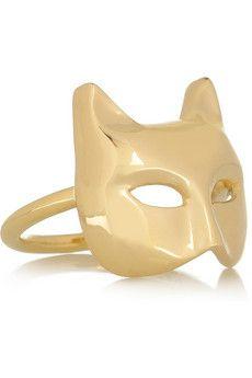 Cat Mask Ring