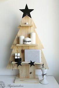 Un paso a paso genial para hacer un árbol de Navidad.