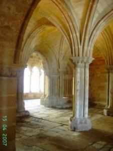 Monasterio Santa María La Real, en Aguilar de Campoo. (Palencia). Monumento Histórico Artístico, 12 Junio de 1866.