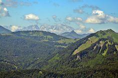 View from Schafberg Alpe.  St. Gilgen, Salzburg, Austria.