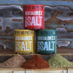 Montana Mex Salt Seasoning Trio by Chef Eduardo Garcia