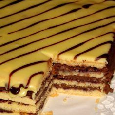SuklaaRaitakakku tai Leivokset - Kotikokki.net - reseptit Cake Recipes, Dessert Recipes, Desserts, Finnish Recipes, No Bake Cake, Tiramisu, Cake Decorating, Food And Drink, Nutrition