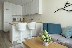 ЖК Friendly House (55 sq.m.) + живые фото • Дизайн-проект • DAVIDOVICH.design Home Design Decor, House Design, Home Decor, Kitchen Room Design, Living Room Decor, Sweet Home, Interior, Table, Furniture
