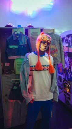 Rocky on A$SP Mob's instagram story
