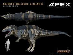 Acrocanthosaurus atokensis by Herschel-Hoffmeyer on deviantART: