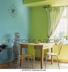 Résultats de recherche d'images pour «cuisine vert lime et bleu»
