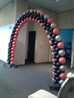 Balloon arch Balloon Gate, Love Balloon, Balloon Columns, Balloon Garland, Ballon Decorations, Birthday Party Decorations, Baloon Art, Ideas Para Fiestas, Holidays And Events