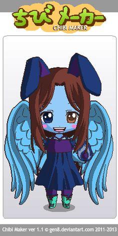 Demon Sapphire Chibi Maker, Sapphire