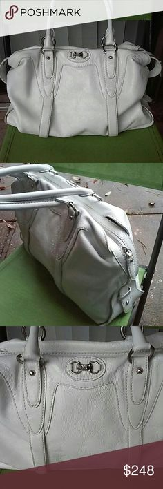 Michael Kors huge patent leather bag One zip pocket and 4 pouches, used few times,minor wear MICHAEL Michael Kors Bags