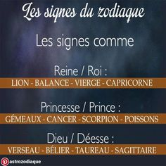 Datant même signe astrologique