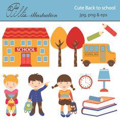 146 best back to school clipart illustrations images on pinterest rh pinterest com black clipart for acts 16 black clip art