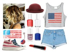 """Happy 4th of July!!!"" by mrsalythiamalik ❤ liked on Polyvore"