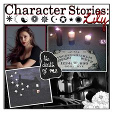 """""""Character Stories: Lily"""" by love-is-for-souls-and-witches ❤ liked on Polyvore featuring art, bedroom and bathroom"""